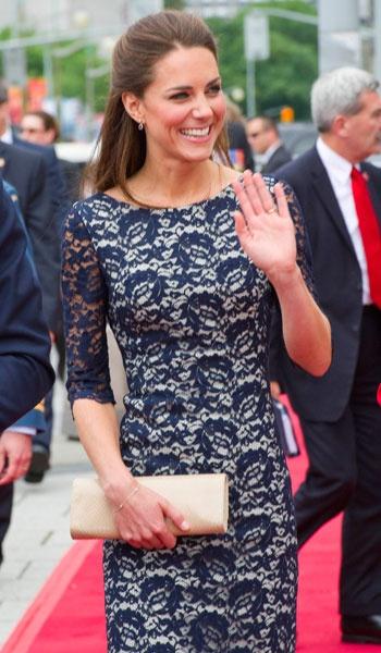 Stunning Kate Middleton.  I want her life.