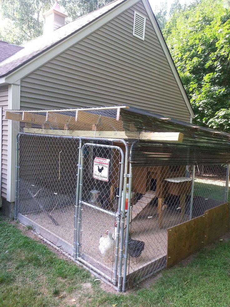 Excellent free dog kennel coop how to make door area