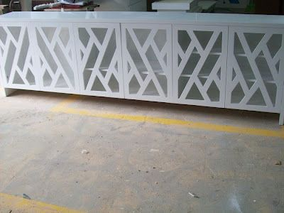White Sideboard - Blanco interiores