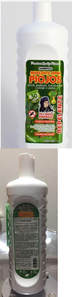 Medicated Hair Treatments: Shampoo Kills Lice Repelente Pi0jos Del Indio Papago Mexico 33 Oz Mata Piojos -> BUY IT NOW ONLY: $1000 on eBay!