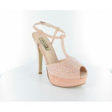 Sandalo con paillettes by Coca #scarpe #donna #italianshoes