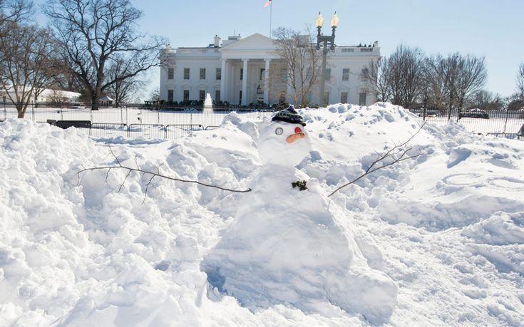 Winter Storm Jonas dumped massive amount of snow all along the East Coast