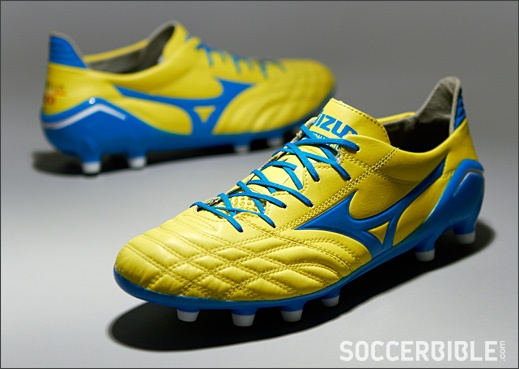 Mizuno Morelia Neo Football Boots - http://www.soccerbible.com/news/football-boots/archive/2012/10/23/mizuno-morelia-neo-football-boots-yellow-blue.aspx