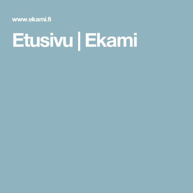 Etusivu | Ekami