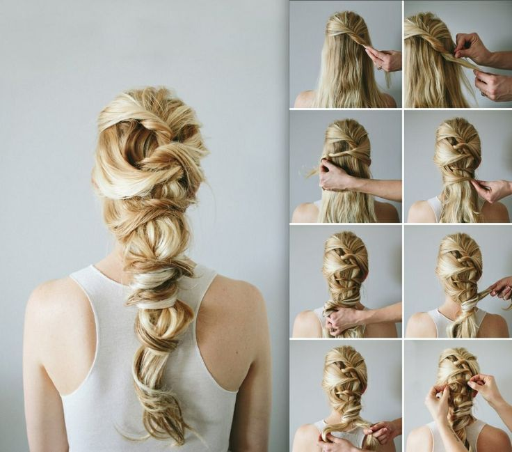 chinese staircase braid - Google Search