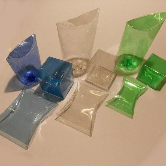 Duh! Make boxes and packaging recyling PET bottles