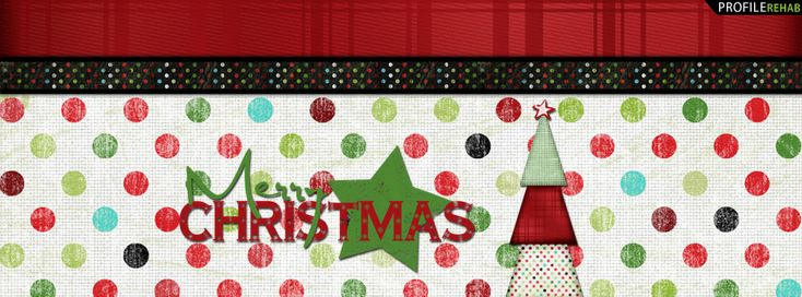 Merry Christmas Facebook Cover for Timeline