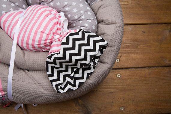 Baby culla paraurti cuscino lungo pittoresco di BandanaShop