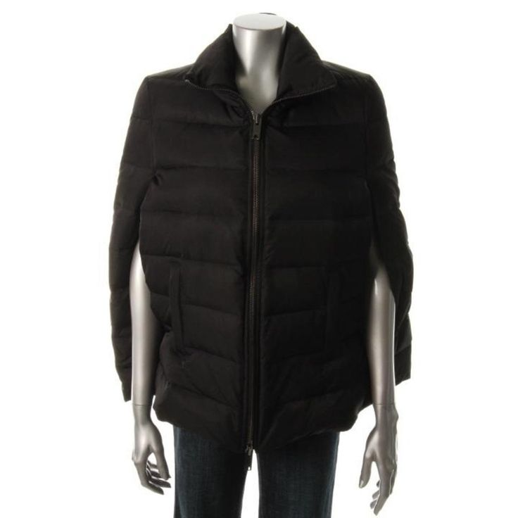 DKNY Womens Puffer Coat