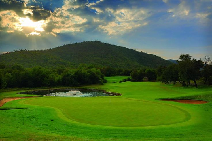 4th hole - Gary Player Golf Course