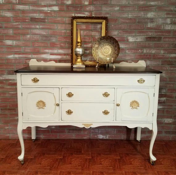 shabby chic furniture painted furniture buffet table sideboard rh pinterest com