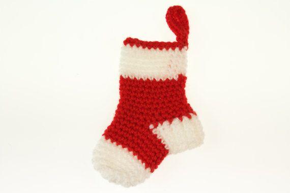 Вязание шаблон Мини рождественские чулки по PointelleShop на Etsy