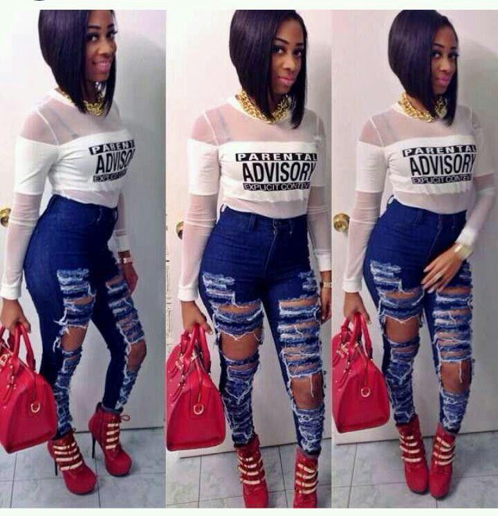 ebony panties ripped off