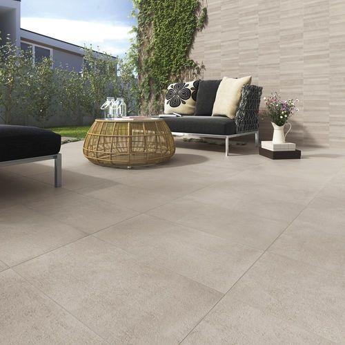 baldosa de exterior para pavimento de gres porcelnico pulida genesis root strutturato