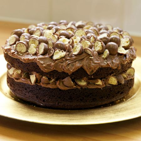 Easy chocolate Malteser cake recipe... This scrumptious and indulgent chocolate Malteser cake recipe is quick, easy and open to interpretive decoration...