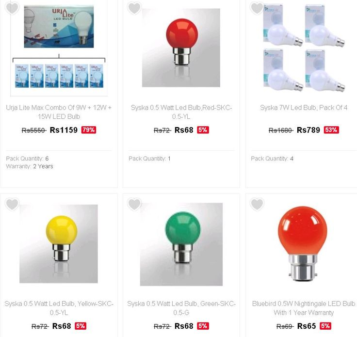 Buy LED Bulb for Home at Cheapest Price in India on Tolexo - Starting Rs 68 Only - Couponscenter