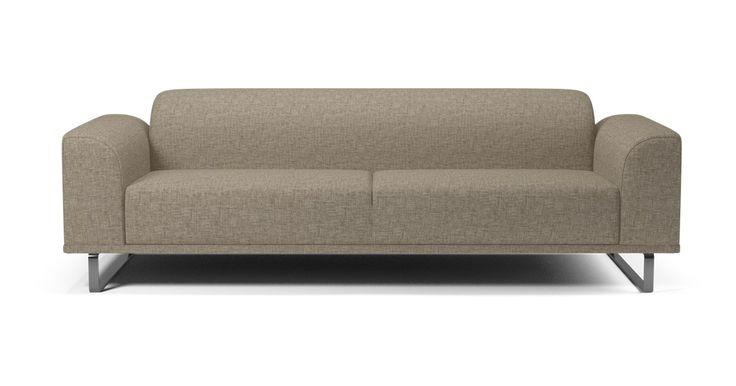 La oss introdusere deg for Hannah Hun er en fleksibel, moderne og komfortabel sofa med myke linjer og kurver, og kommer som ulike modeller avhengig av humør og behov. Endre benene, og den vil få et helt annet utseende – nærmest som en kameleon. Hils på ... Hannah.