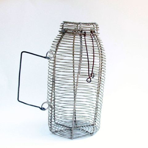 342 best images about rusty tin galvanized metal zinc for Fish wire basket