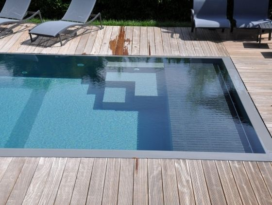 420 best piscine images on Pinterest Swimming pools, Garden ideas - Piscine A Construire Soi Meme