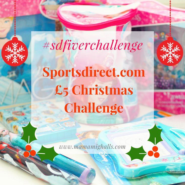 Sports Direct £5 Christmas Gift Challenge