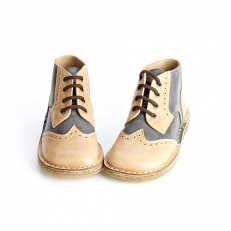 Pepe Bi-Color Lace Up Boots van PePe kinderkleding