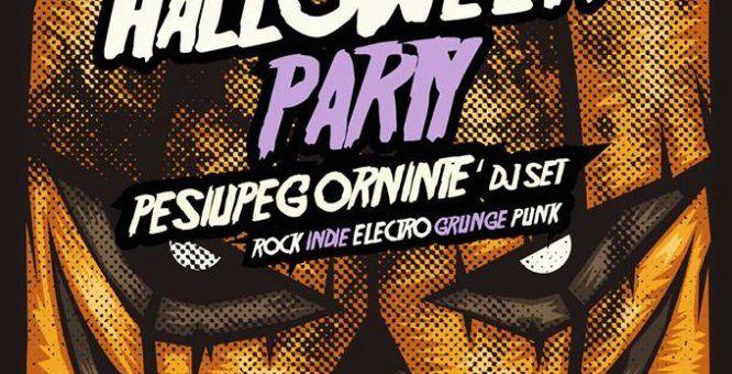 """31 ott. Manduria (Ta) - Halloween party - La notte delle streghe - Pesiupeg Ornintè dj set. Un atmosfera da brivido, il tutto accompagnato dalla magnifica musica di Pesiupeg Ornintè Dj Set, """"Un Dj Set a prova di limitazione in cui sguazzano selezioni Rock, Indie, Alt Rock, Elettronica, Glam, Pop, Blues, Beat, Grunge, Punk, Synth Pop, Post Rock, Dark, New Wave, Psychedelic"""