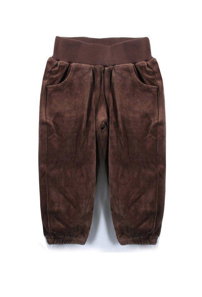 ZARA Kids Baby Boys Girls Velour Casual Pants Trousers Brown (sz 12-18-24 month) #ZARAKIDS #Pants #EverydayHoliday