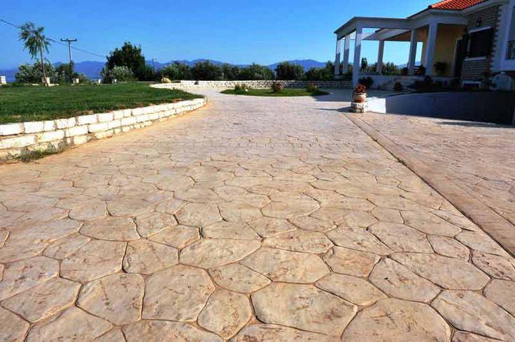 """Печатный, штампованный бетон(пресс бетон)   Компания """"Style Beton"""" декоративный бетон, декоративная штукатурка."""