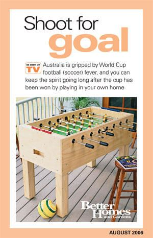 113 best wooden game plans images on pinterest woodworking plans diy foosball table tutorial solutioingenieria Image collections