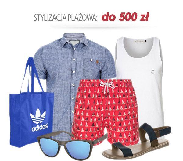 Stylizacja plażowa do500 zł