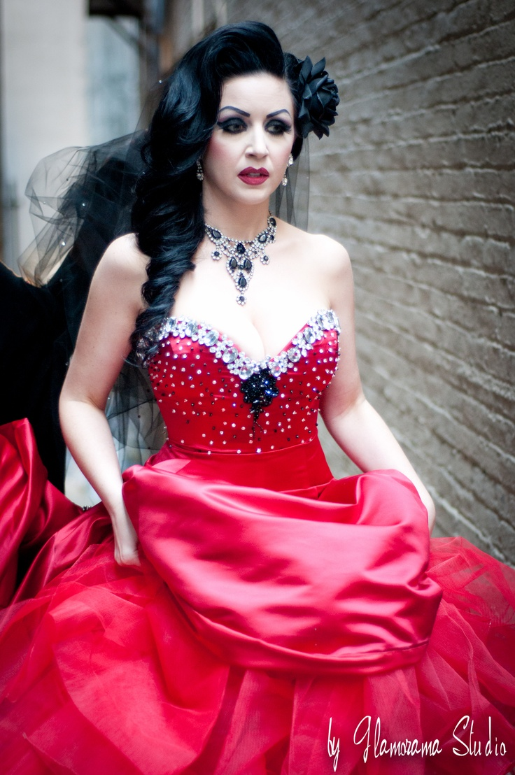 Sophia The Bride On Her Way Find This Pin And More My Fair Wedding Unveiled Burlesque