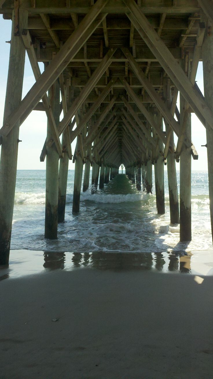1000 images about jetties landing docks piers on for Surf city fishing pier
