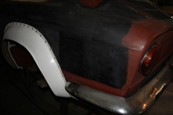 Abarth OT 2000 coupe America rear