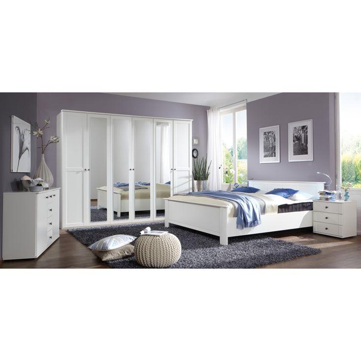 E Combuy Angebote Schlafzimmer Set CHALETO166 Alpinweiß: Category:  Schlafzimmer Sets Item Number