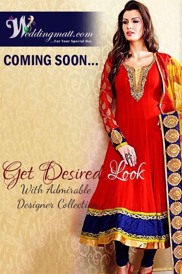 Get Desired Look With Admirable Designer Collection #WeddingMatt #DesignerSuits Visit:- http://weddingmatt.com/