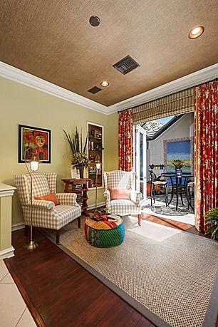 Living room beach condo decorating