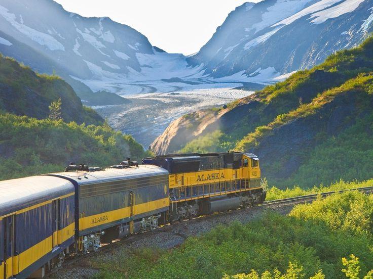 Alaska Railroad, GoldStar Service : World's Most Jaw-Dropping Train Rides : TravelChannel.com