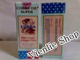 VIENLIE SHOP: COBRA OIL SUPER – Obat Pembesar Penis Permanen