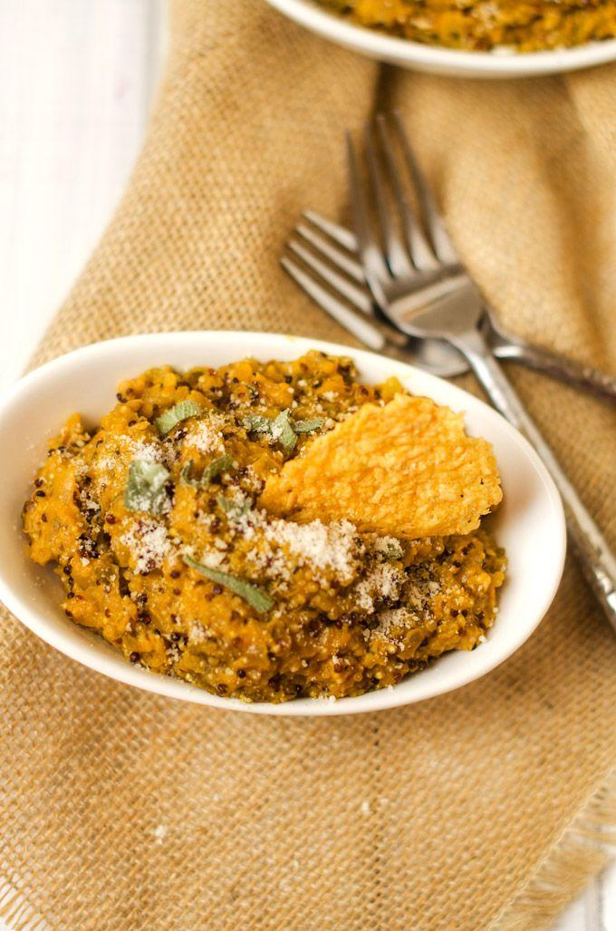 Pumpkin Quinoa Risotto - Cooking Quinoa