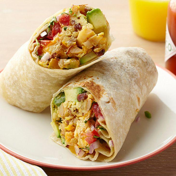 Breakfast Burrito XVI Recipe