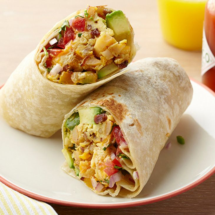 Egg Burrito Recipe Food Network