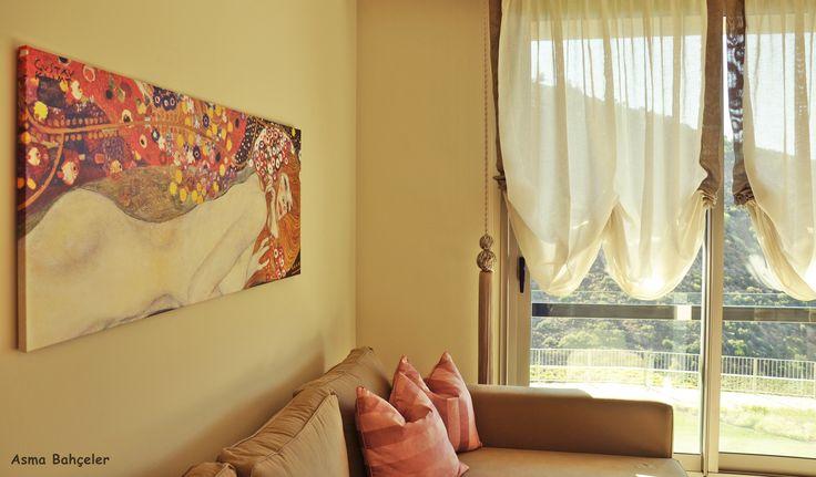 Renkli duvarlar. / Colorful walls.