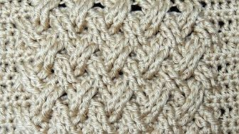 Comment faire des torsades au crochet - YouTube
