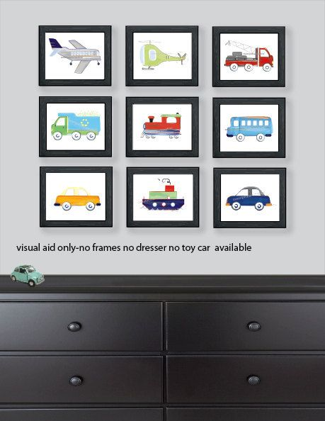 Hey, I found this really awesome Etsy listing at https://www.etsy.com/listing/218599875/transportation-art-airplane-bus-truck