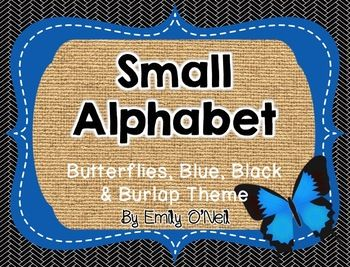 This small alphabet is great for a word wall! The letters are on primary lines. I also included a sign for the Word Wall.