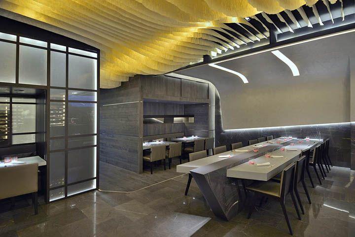 Ресторан КБК Aravaka японского GBCAA архитекторов, Мадрид – Испания » в блоге