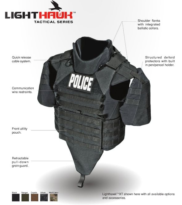 On Duty Gear Tactical and Military Equipment - this should be standard for all Police Officers