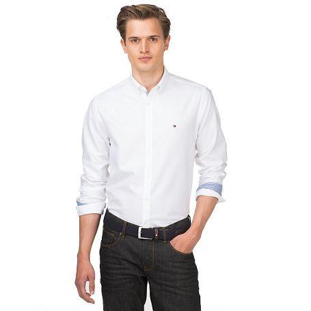 Tommy Hilfiger Ivy Regular Fit Hemd - classic white (Weiß) - Tommy Hilfiger Casual Hemden - Hauptbild