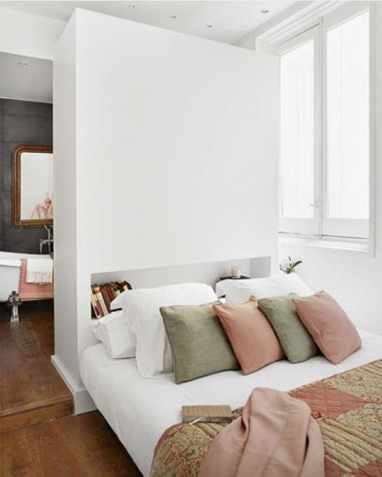 10 Creative Examples For Dividing Small Spaces: Best 20+ Room Divider Headboard Ideas On Pinterest