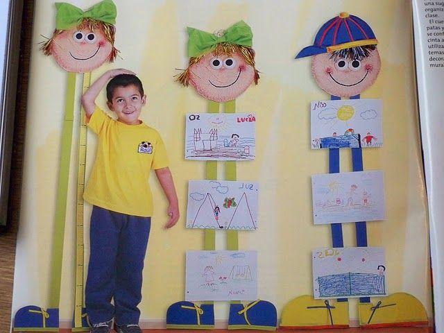 Imágenes de como decorar un salón de preescolar - Imagui                                                                                                                                                     Más